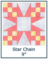 Star Chain quilt block