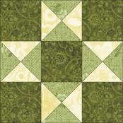 Star of Virginia quilt block
