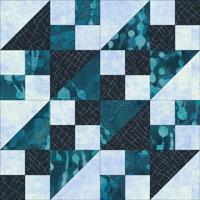 State House quilt block design