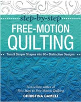 Step by Step Free Motion Quilting Book