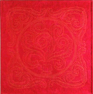 This quilt is constructed with silk batting.<br><br>Click on each thumbnail below for a larger image<br><br>