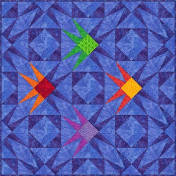 Fish block pattern - Help! - Quilting Board