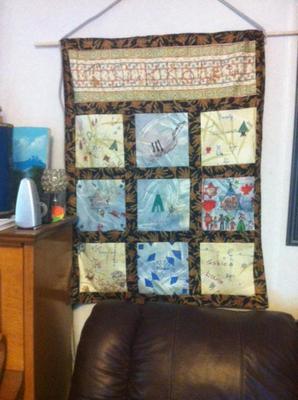 Our Sukkot Quilt/Banner