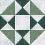 Swamp Angel quilt block