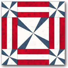 Tangled Lines quilt block