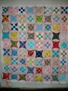 Glorified 9-patch quilt <br /><br />Click on each thumbnail below for a larger image<br /><br />