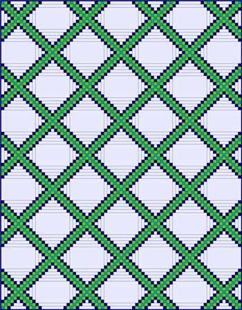Triple Irish Chain Quilt Quilt Blocks And Patterns Magnificent Irish Patterns