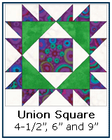 Union Square quilt block tutorial