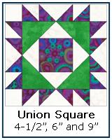 Union Square quilt block tutorial