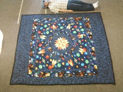 Universe Star Quilt