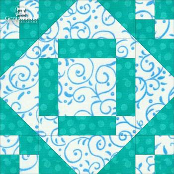 Valley Square quilt block