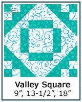 Valley Square quilt block tutorial