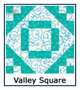 Valley Square quilt design inspiration