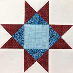 Variable Star quilt block tutorial