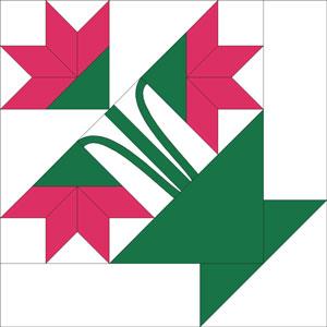 Vintage Carolina Lily Quilt Pattern : block quilts designs - Adamdwight.com