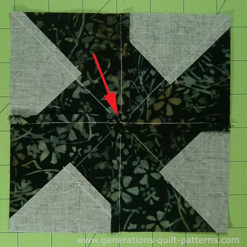 Whirlwind Quilt Block Tutorial Instructions In 5 Sizes