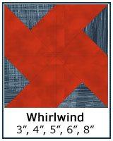 Whirlwind quilt block