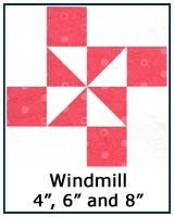 Whirlwind quilt block tutorial