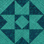 Air Castle quilt block