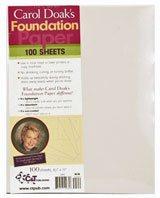 Carol Doak Foundation Paper