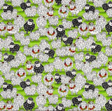 Fabric of the Day - 'Knit Happy' by Henry Glass and Co.