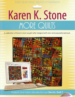 Karen K Stone quilt patterns CD