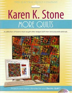 Karen K Stone quilt patterns CD