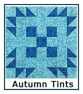 Click here for Autumn Tints quilt designs