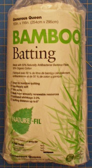 packaged bamboo quilt batting