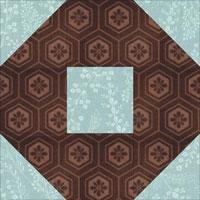 Big O quilt block