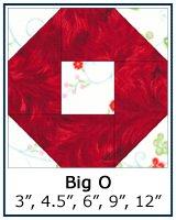 Big O quilt block tutorial