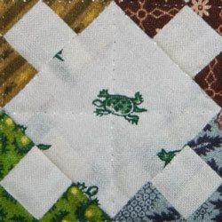 Birthday Quilt setting square detail