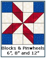 Blocks and Pinwheels quilt block tutorial