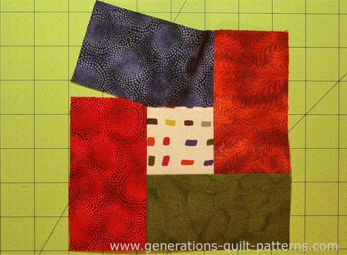 Just half a seam left to sew