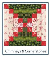 Chimneys and Cornerstones quilt designs