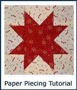 Go to paper piecing tutorial