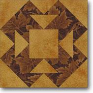 Capital T quilt block
