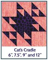 Cat's Cradle quilt block tutorial