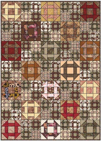 Churn Dash Quilt Designs