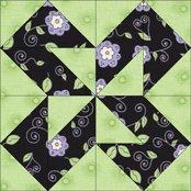 Colorado Beauty quilt block design
