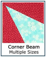 Corner Beam quilt block tutorial and review