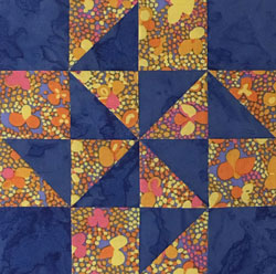 Double Quartet quilt block tutorial