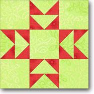 Double T quilt block