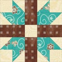 E-Z quilt block design