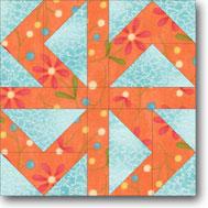 Farmer's Puzzle Quilt Block