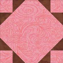 Federal Chain quilt block 2