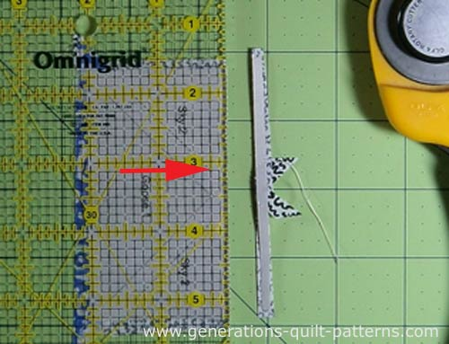 Trim with your rotary ruler