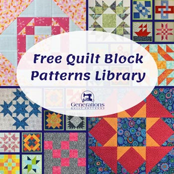 Patchwork Quilt Block Patterns Free : Free Quilt Block Patterns Library