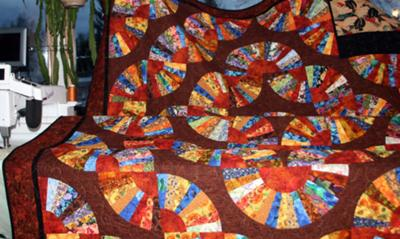 My Grandmother's Fan Quilt<br><br>