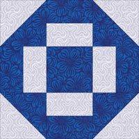 Greek Cross quilt block design